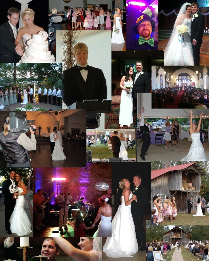Wedding Pix Collage